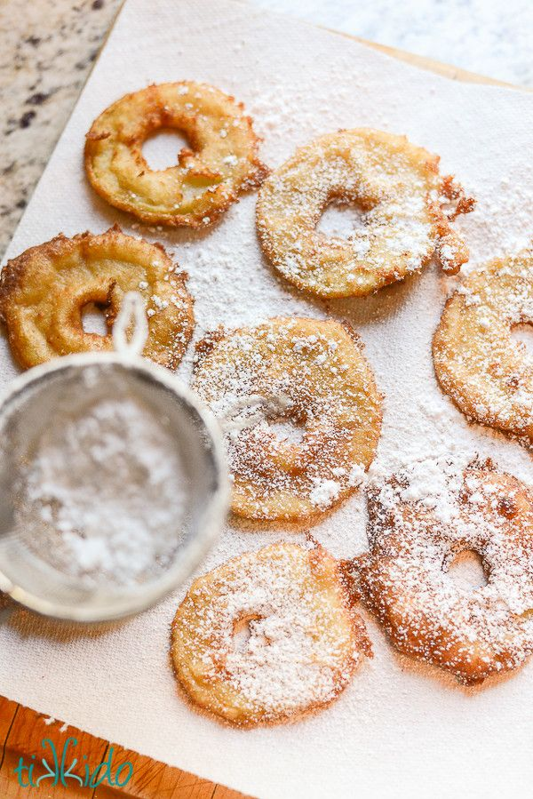 Apple fritters, Fritters and Apples on Pinterest