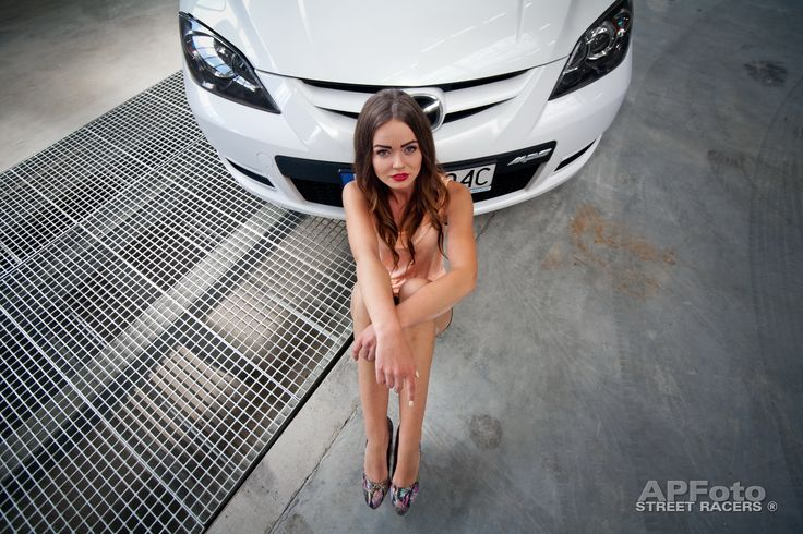 Mazda MPS and girl