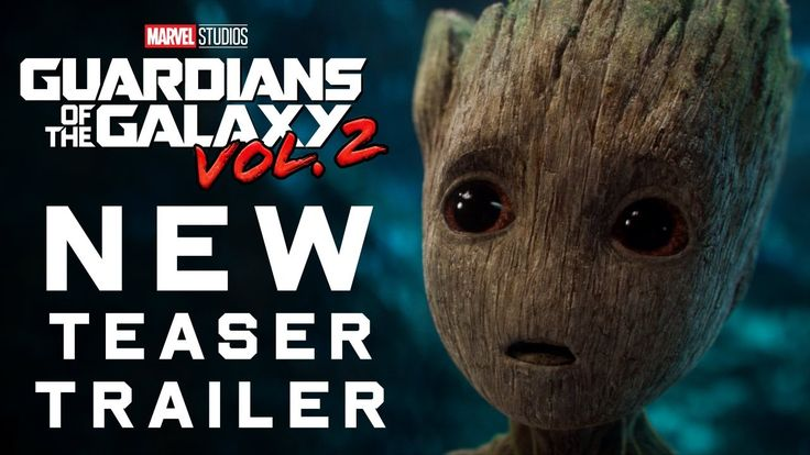 Guardians of the Galaxy Vol. 2 Teaser Trailer ---> So excited!!! Baby Groot is adorable!! I also can't wait for the soundtrack to release!!