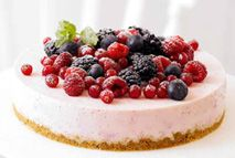 Berry burst cheesecake – Recipes – Slimming World