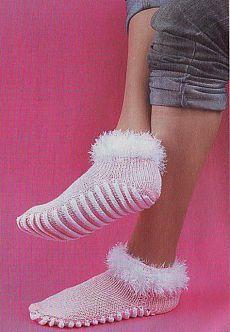 Носки с лечебным эффектом - Носки- вязание спицами - Вязание для женщин - Схемы вязания крючком и спицами - Вязание