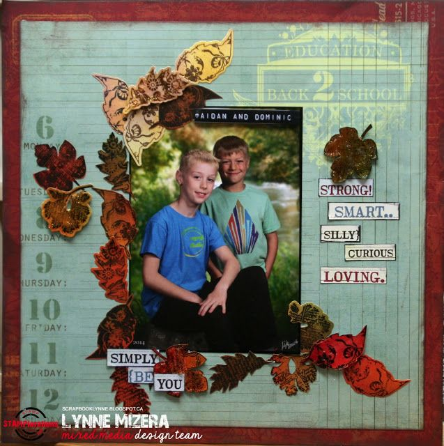 Lynne's Art World: STAMPlorations Mini Release Hop - Trendy Leaves 2 - Comment To Win!