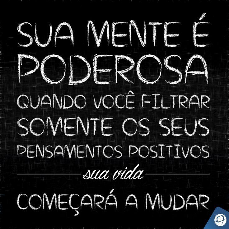 Poder da mente. #frases #citações