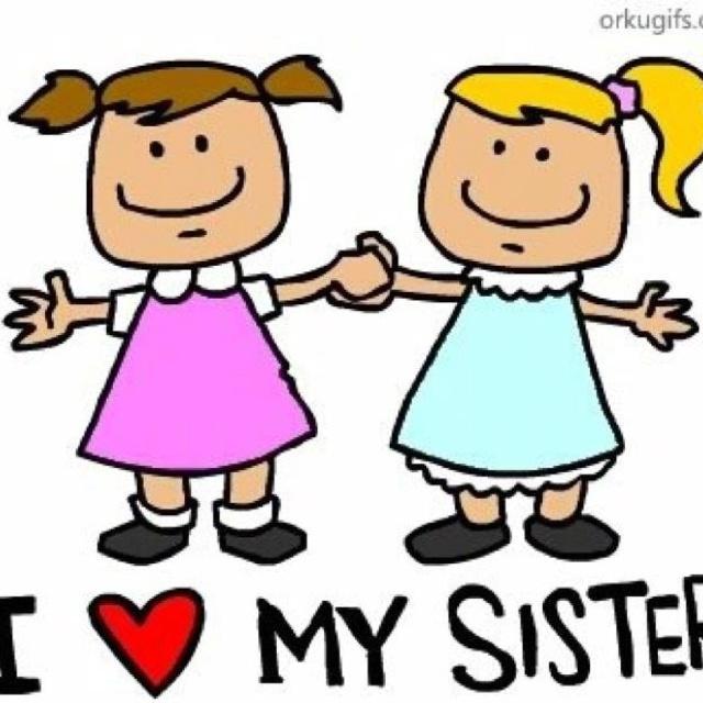 Сестренки гифка мультяшные