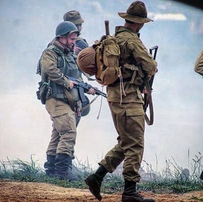 Action #3🎬 #recon_airsoft #reenactment #vdv #ussr #afganwar #ссср #память #афган #ак74 #рд54 #солдат #шлем #война #армия #airsoft #вдв #реконструкция