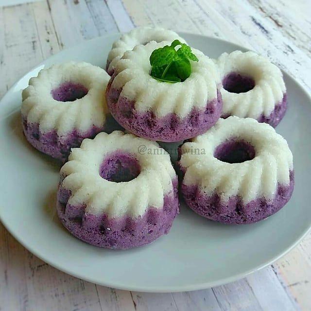 Resep Kue Cake Dessert Di Instagram Putu Ayu Ubi Ungu Recook Aniktriwina Source Hanhanny Resep Yg Tercantum Disini Sudah Saya M Makanan Resep Kue Lezat