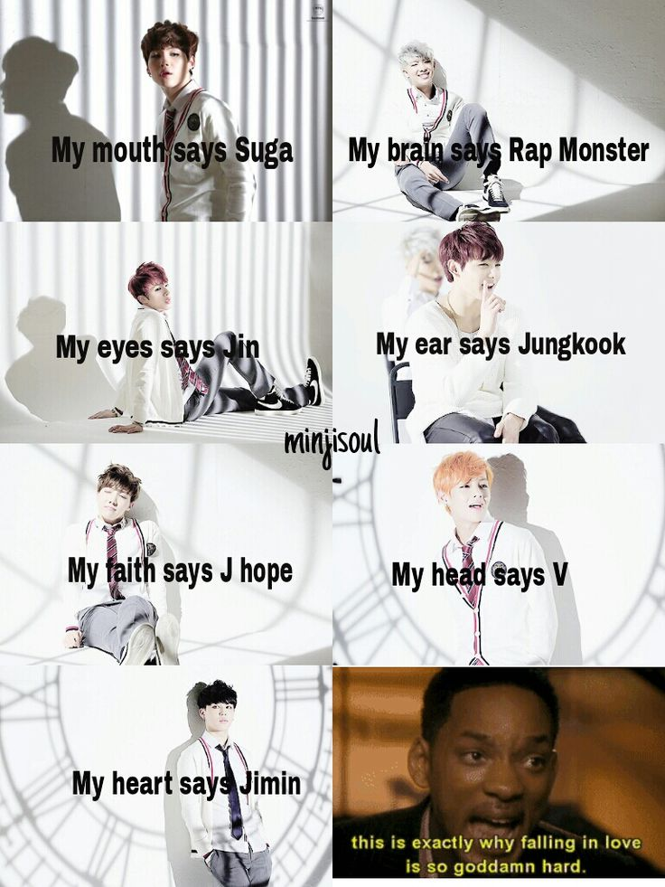 Fell in love in just one day…(more like my body says jimin and my heart says V)