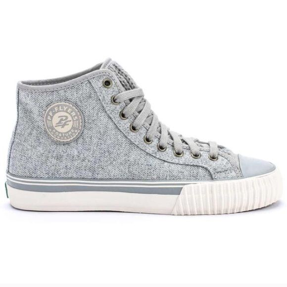 PF Flyers New in box! Grey with braided tongue. PF Flyers Shoes