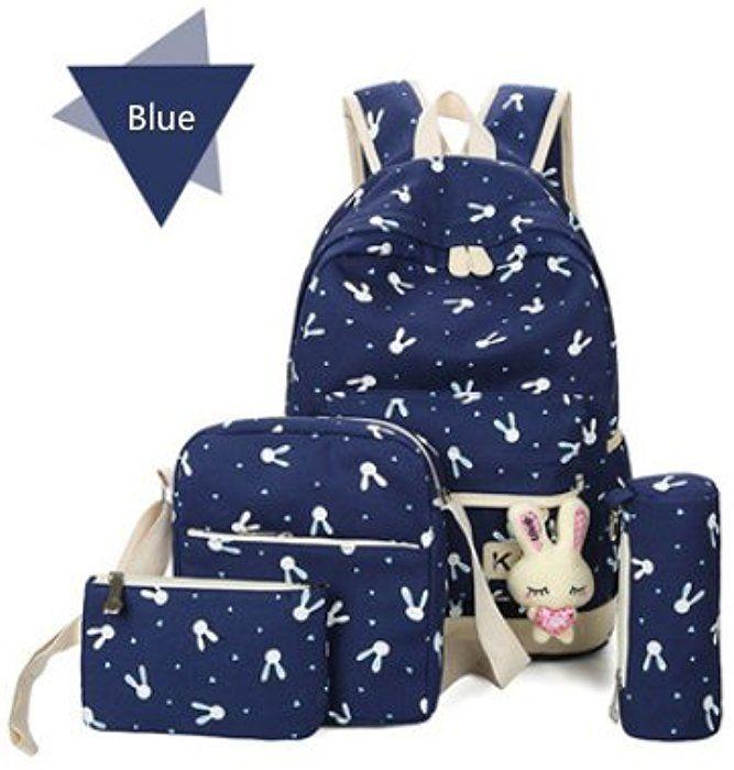 b7a61fbb6f92 Amazon.com | Backpack, Caveen Cute Funny Canvas School Bag Back to ...