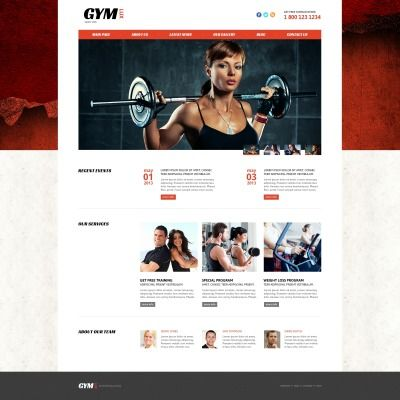 Gym for Health and Beauty Responsive Joomla Template