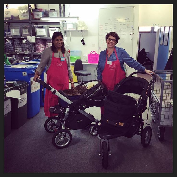 Nikoli and Jane safety checked 6 prams in 2 hours yesterday! It was their first time tinkering and they both loved it and took to it likes ducks to water. They did get a head start however as each pram had been beautifully washed by the team at Interchange Outer East beforehand. These prams will all be picked up by social workers on Monday to go to their new homes. It really does take a village - thank you to the generous families who donate - your gifts keep giving!