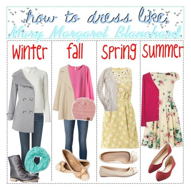 How To Dress Like :: Mary Margaret Blanchard by captainamericafan on Polyvore featuring polyvore art