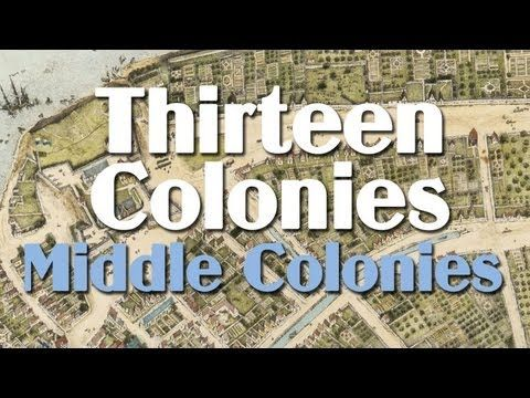 This edition of Mr. Zoller's Social Studies Podcasts focuses on England's thirteen original colonies in the new world.  Specifically, this podcast discusses the Middle Colonies: New York, New Jersey, Pennsylvania, Delaware.