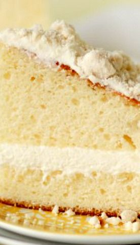 Olive Garden Lemon Cream Cake ~ a copycat of the fabulous Olive Garden dessert!!