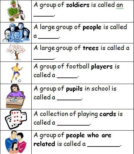 Collective Nouns | Learn English with Demi