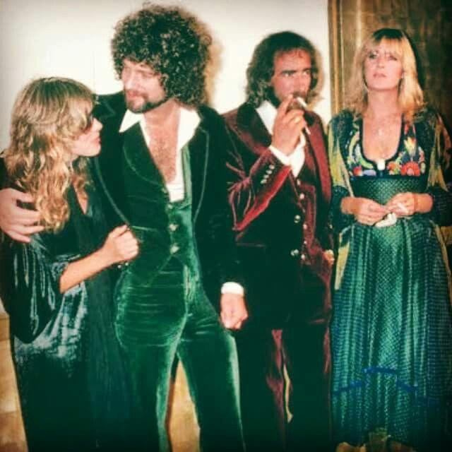 Stevie Nicks, Lindsey Buckingham, John McVie, and Christine McVie