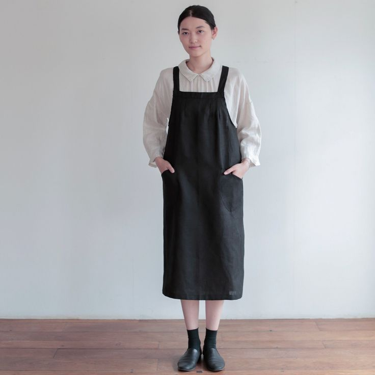 Salon Apron: Black