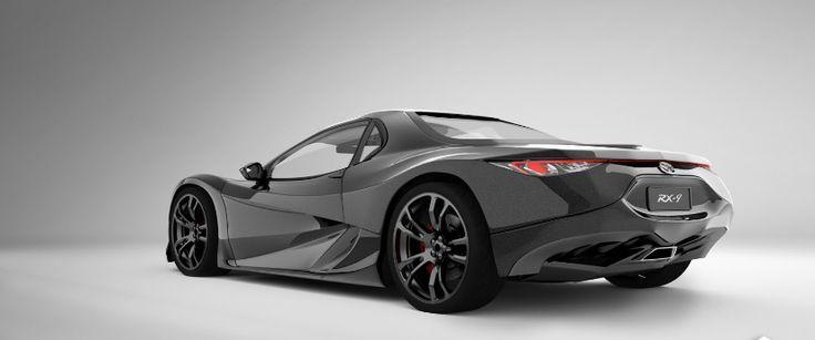 2018 Mazda RX-9 Style Design