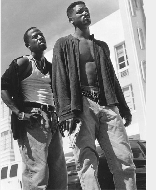 "Martin Lawrence & Will Smith in ""Bad Boys"""