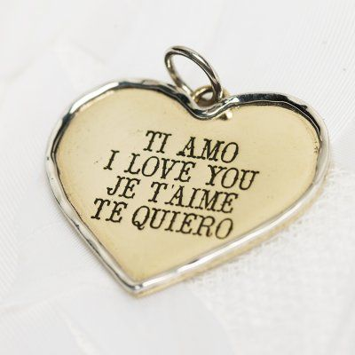 Love languages charm #2062 > RRP $AUD39.60 | PALAS Jewellery