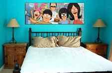 BOBS BURGERS - cast collectible poster wall art cartoon h jon benjamin