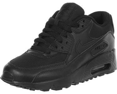 Nike Air Max 90 Mesh GS schoenen zwart