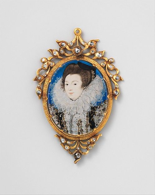 Nicholas Hilliard (British, ca. 1547–1619). Portrait of a Woman, 1597. The Metropolitan Museum of Art, New York. Fletcher Fund, 1935 (35.89.2)