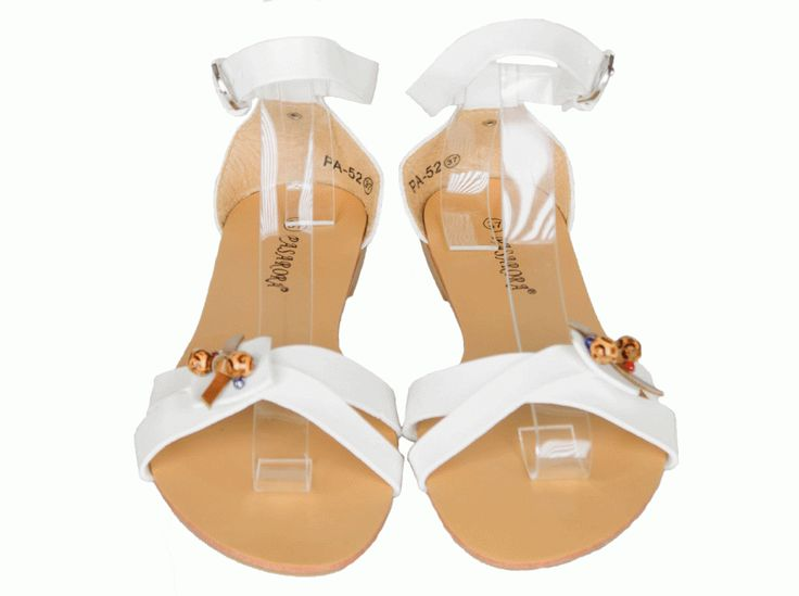Sandale Dama Childish White  -Sandale dama  -Se inchid cu catarama  -Design interesant  -Talpa joasa