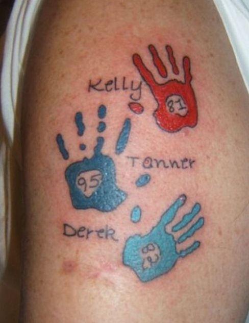 Wonderful Kids Names Tattoos Ideas