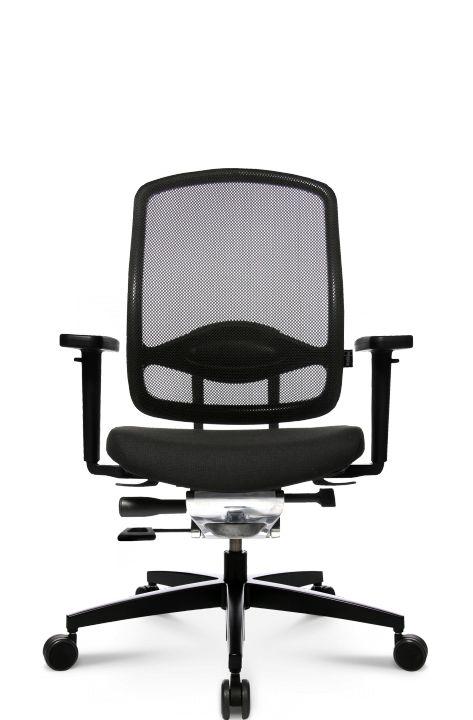Gesundes Sitzen mit dem AluMedic 5 von Wagner Living Probesitzen und kaufen: www.kargl.de
