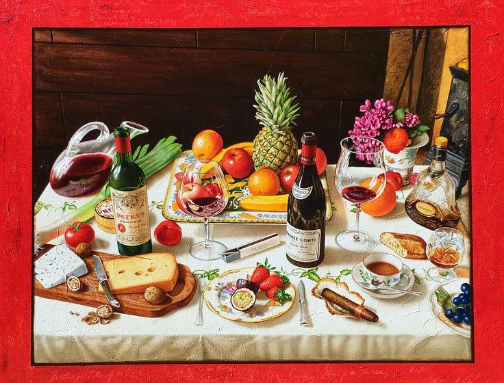Birthday Table by Anton Molnar - jen@yanggallery.com.sg – YangGallery