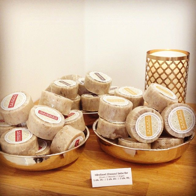 """Disse lækre sæber for vi fremstillet hos en bornholmsk sæbemager. Med vores egene rene ingredienser og det bornholmske håndværk er resultatet en skøn håndlavet koldrørt sæbe helt fri for tilsætningsstoffer og med de lækreste naturlige ingredienser fra Marokko. #Handmade #Soap #ColdProcess #MoroccanHammam #HammamNight #Hammam #MadeWithLove #Clean #Copenhagen"" Photo taken by @moroccanhammam on Instagram, pinned via the InstaPin iOS App! http://www.instapinapp.com (04/09/2015)"