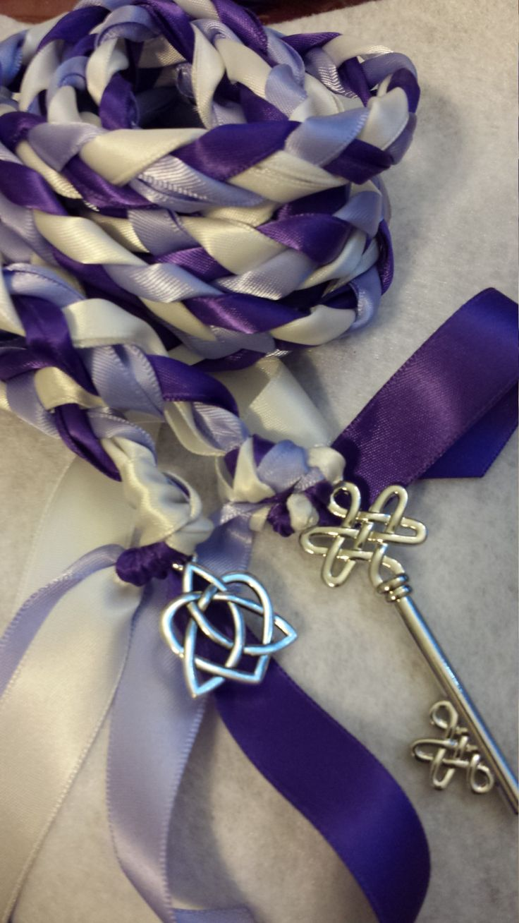 Key to Love  Wedding Hand Fasting/ Binding Cord ~ Handfasting ~ Celtic Theme ~ ONLY ONE by DivinityBraid on Etsy