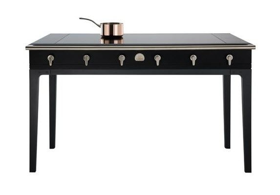 table de cuisson vitrocéramique : induction LA CORNUE W. by Wilmotte LA CORNUE