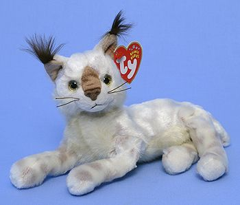 Tracks - Lynx - Ty Beanie Babies i need this