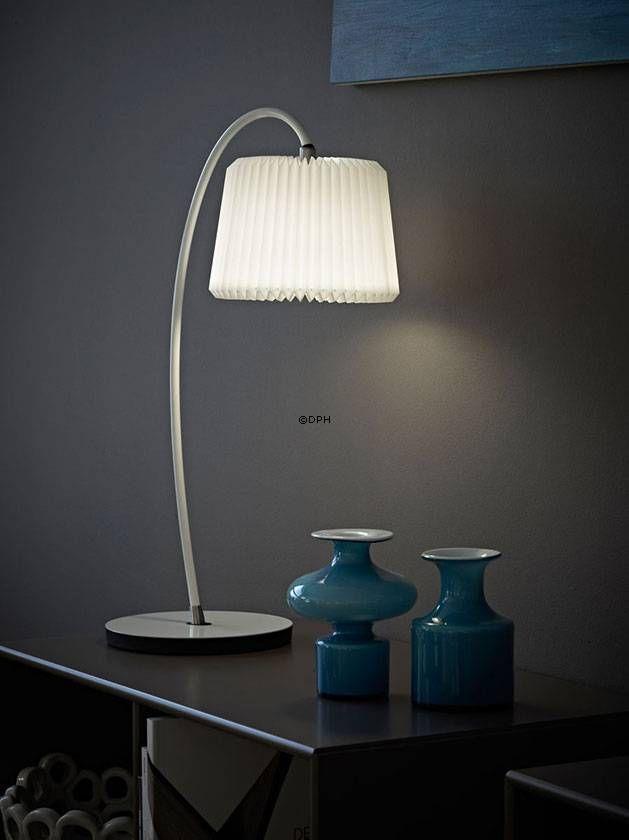 Le Klint B hvid bordlampe | Nr. lk-320b-hv | Alt. 320BHV | DPH Trading
