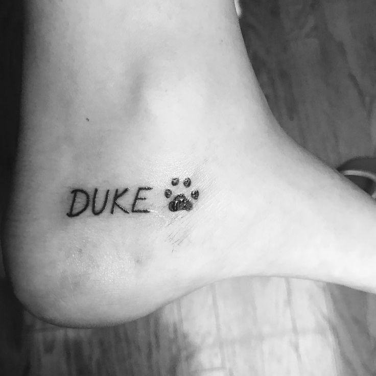 25  beste ideeën over Hond Gedenkteken Tatoeages op Pinterest - Hond ...