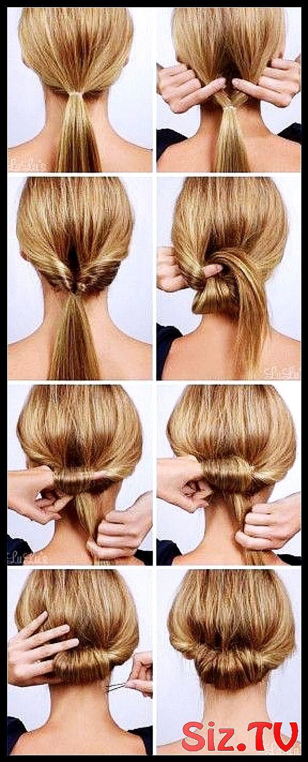 40 Self Do Hairstyles For The Work Mom Hairstyle Work The Hairstyles For Long Hairstyles For Work M Easy To Do Hairstyles Easy Hairstyles Mom Hairstyles