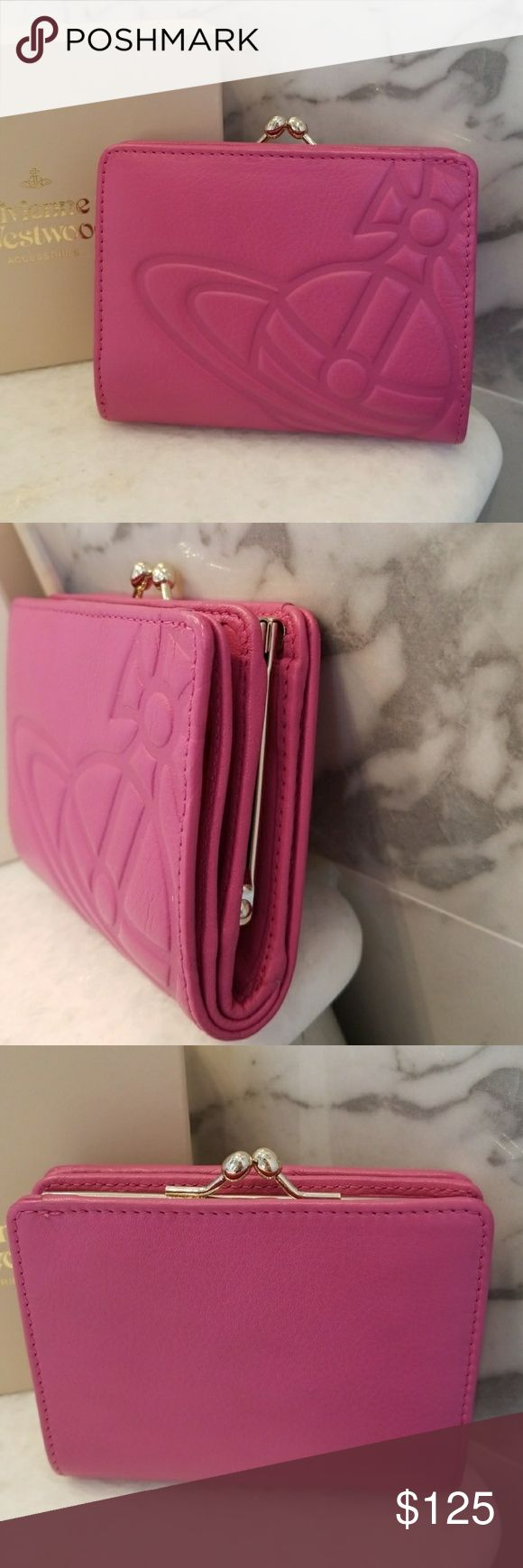 Vivienne Westwood Lampskin Wallet Pre-own and in excellent condition. Vivienne Westwood Bags Wallets