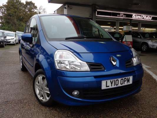 Used 2010 (10 reg) Blue Renault Grand Modus 1.2 TCE Dynamique 5dr for sale on RAC Cars