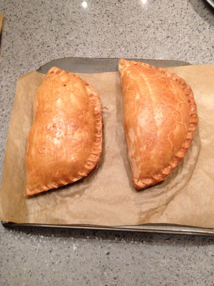 Monster Smoked Haddock Pasties. From Tom Kerridge recipe.  These bad boys are delicious and large.