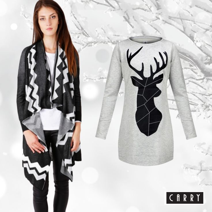 Lovely winter <3   #winter #outfit #print #carryworld #womensfashion #carry