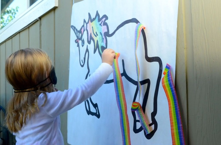 Pin the Tail on the Unicorn