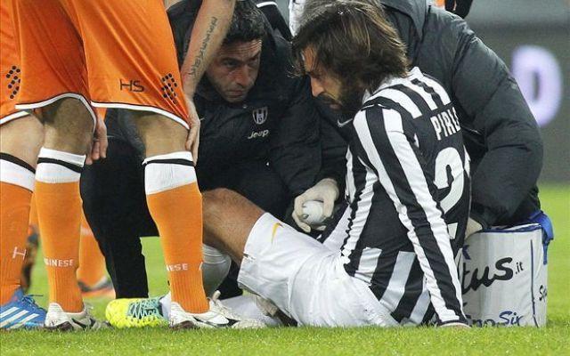 Problemi al ginocchio, Pirlo assente contro il Galatasaray? #pirlo # #juventus # #infortunio # #galatasaray