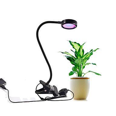 8W leidde kweeklampen rood en blauw LED-chip AC100-240V adapter of usb groeien lamp 2 standen dimbaar voor kamerplanten growning - EUR € 33.31