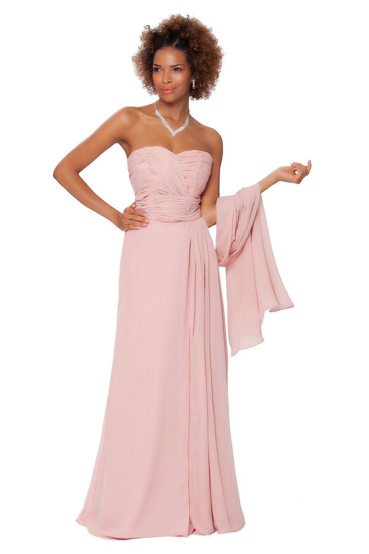 SEXYHER Gorgeous Encuadre de cuerpo entero sin tirantes de las damas de honor vestido de noche formal - EDJ1563