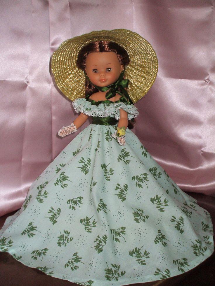 Nancy en particular: NANCY Y EL CINE. Vestido largo de Escarlata.