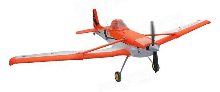 Dynam C-188 C188 Crop Duster Orange 1500mm Wingspan RC Airplane PNP