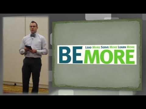 Be more. Do more. Ignite Talk by Matt Deeg, Hanover College