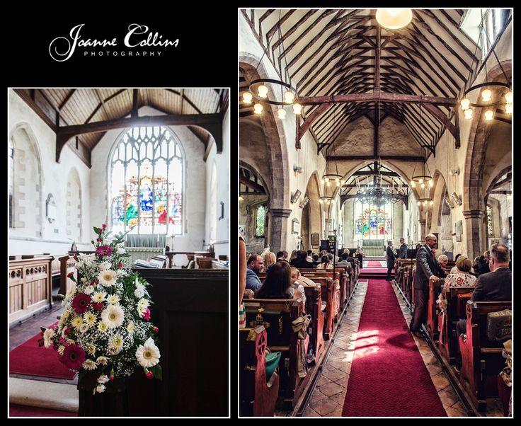 Chilham Castle Estate Wedding Photographer Teynham church inside, the aisle